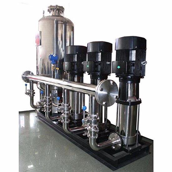 给水泵站设计_给水泵站设计时,选泵的主要依据是什么? - 东莞市天泉供水 ...